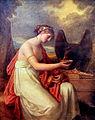 Hebe tränkt den Adler des Jupiter by Angelica Kauffmann.jpg