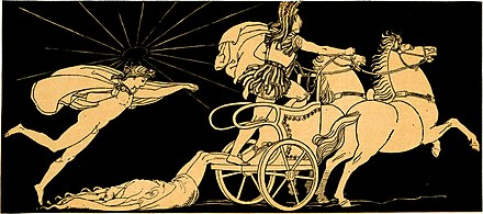 Apollo protecting Hector's body, by John Flaxman Hector's body dragged at the Chariot of Achilles.jpg