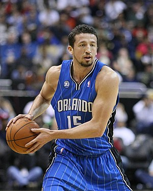 Hedo Turkoglu at the Washington Wizards v/s Or...