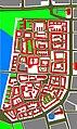 Heilbronn Aufbauplan der Altstadt 1948 Ergebnis der Planer Volkart, Gonser und des Wettbewerbs.JPG
