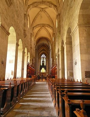 Heiligenkreuz Abbey - Nave of the church