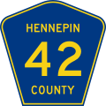 Hennepin County Route 42.svg
