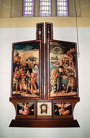Jerg Ratgeb - Image: Herrenberger Altar BMK