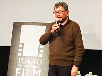 "Hideaki Anno - Anno participated in ""The World of Hideaki Anno"", Tokyo International Film Festival on October 30, 2014."