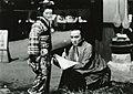 Hideko Takamine and Chōjūrō Kawarasaki in Sono zen'ya 1939.jpg
