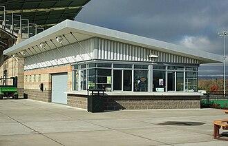 Concession stand - Image: Hillsboro Stadium concession stand