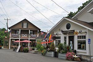 Hillsdale (town), New York - Hillsdale hamlet
