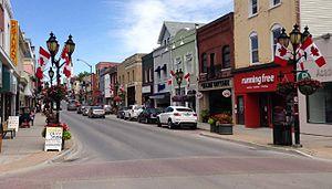 Newmarket, Ontario - Historic Main Street Newmarket