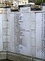 Hitchin War Memorial - Great War Panel - P to S - geograph.org.uk - 2709379.jpg