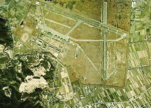 Hōfu Air Field - Image: Hofu Air Field Aerial Photograph