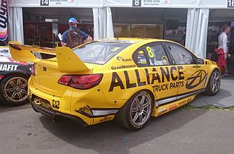2016 Supercars Dunlop Series - Andrew Jones placed sixth for Brad Jones Racing in a Holden VF Commodore.