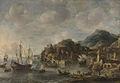 Hollandse schepen in een vreemde haven Rijksmuseum SK-A-2678.jpeg