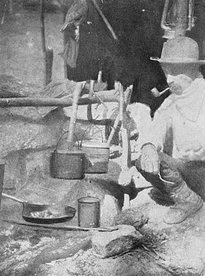 Horace Kephart - Kephart in camp in the Smokies