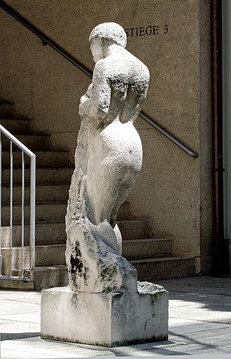 Hortensia Fussy - Hortensia: Hommage à Courbet, 1988–95. Harrach Palace, Vienna
