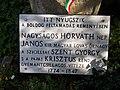 Horváth Nepomuki János síremléke, tábla, 2018 Ráckeve.jpg