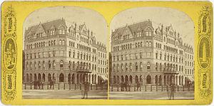 Cummings and Sears - Hotel Boylston, corner Tremont and Boylston St., Boston, 19th century