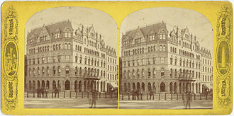 Cummings and Sears - Hotel Boylston, corner Tremont and Boylston St., Boston, 19th century