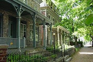 Powelton Village, Philadelphia - Houses in Powelton Village