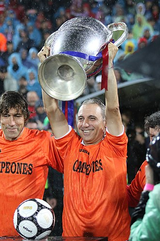 1991–92 European Cup - Hristo Stoichkov was part of the Barcelona team that won the competition.
