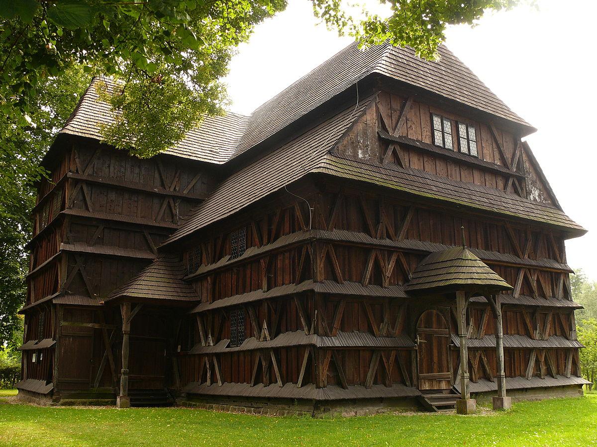 glises en bois de la partie slovaque de la zone des carpates wikip dia. Black Bedroom Furniture Sets. Home Design Ideas