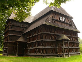 Wooden churches of the Slovak Carpathians - Articular Protestant wooden church in Hronsek