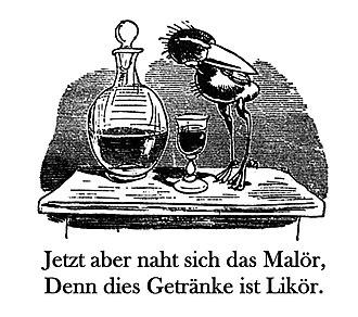 Maakies - Image: Huckebein
