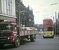 Huddersfield Trolleybus in town centre - geograph.org.uk - 1306310.jpg