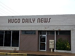 Hugo Daily News Hugo Oklahoma 1-1-2010.jpg