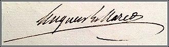 Hugues-Bernard Maret, duc de Bassano - Image: Hugues Bernard Maret autograph
