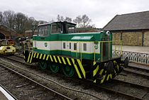 Hunslet Engine Co. 0-6-0DH No. 6950 Louise at the Elsecar Heritage Railway.jpg