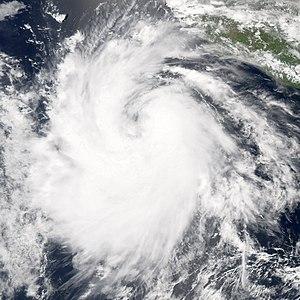 2006 Pacific hurricane season - Image: Hurricane carlotta 2006