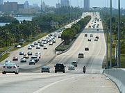 I-195 Miami eastbound