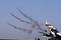 IAF Surya Kirans performing at Aero India 2011.jpg