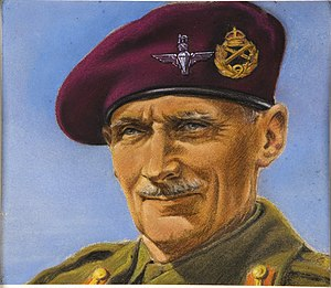 William Timym - Timym's portrait of General Montgomery created during the Second World War for the Ministry of Information.