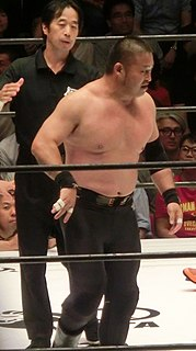 Masao Inoue (wrestler) Japanese professional wrestler (born 1970)