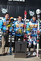 IPC Alpine 2013 SuperG awards standing podium.JPG