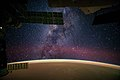 ISS-41 Milky Way and Sahara sands.jpg