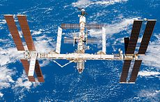 The International Space Station after STS-118.