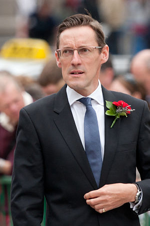 British–Irish Council - Image: Ian gorst in the royal square