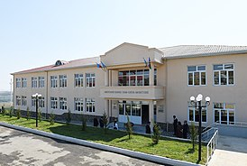Ilham Aliyev attended opening of Meysari village secondary school in Shamahi district 6.jpg