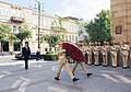 Ilham Aliyev visited the monument in honor of Azerbaijan Democratic Republic 2.jpg
