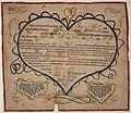 Illustrated family record (Fraktur) found in Revolutionary War Pension and Bounty-Land-Warrant Application File... - NARA - 300055.jpg