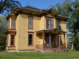Rockton, Illinois - George H. Hollister House in the Rockton Historic District