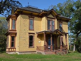 Rockton, Illinois - George H. Hollister House in the Rockton Historic District