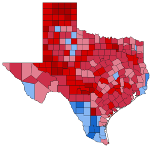 United States presidential election in Texas, 1984 - Image: Img.TX pre 1984