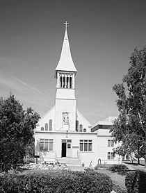 Immaculate Conception Roman Catholic Church, 115 North Cushman Street, Fairbanks (Fairbanks North Star Borough, Alaska).jpg