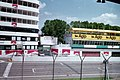 Imola Circuit, 1998 - Tower, podium, pit and start-finish line.jpg
