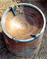 Improvised explosive device explosively formed penetrator Iraq.jpg