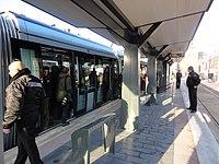 Inauguration de la branche vers Vieux-Condé de la ligne B du tramway de Valenciennes le 13 décembre 2013 (130).JPG