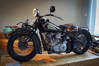 Indian Chief (motorcycle) - 1935 Indian Chief at the Barber Vintage Motorsports Museum